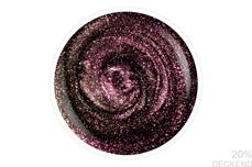 Jolifin LAVENI Shellac - Extreme Cat-Eye galaxy rosy 12ml