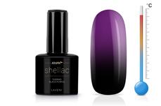 Jolifin LAVENI Shellac - Thermo black-purple 12ml