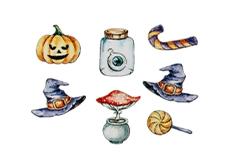 Jolifin Halloween Tattoo Nr. 2