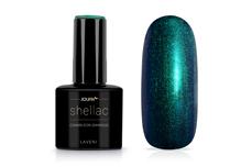 Jolifin LAVENI Shellac - chameleon smaragd 12ml
