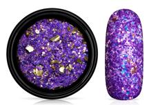 Jolifin LAVENI Foil Flakes Glitter - gold & purple