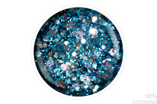 Jolifin LAVENI Shellac - blue ice cream Glitter 12ml