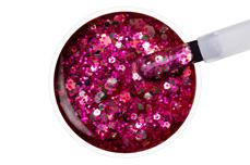 Jolifin LAVENI Shellac - raspberry ice cream Glitter 12ml