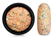 Jolifin LAVENI Foil Flakes Glitter - gold & coral