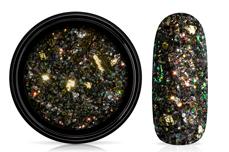 Jolifin LAVENI Foil Flakes Glitter - gold & black
