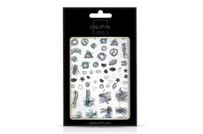 Jolifin LAVENI XL Sticker - Silver 16