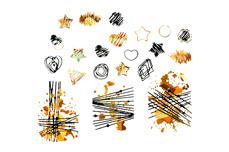Jolifin LAVENI XL Sticker - Gold 17