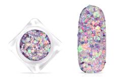 Jolifin Hexagon Glitter - illusion mauve