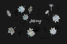 Jolifin LAVENI XL Sticker - Silver 15