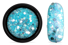 Jolifin LAVENI Crystal Glitter - icy türkis