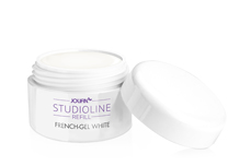 Jolifin Studioline French Gel white 15ml - Refill