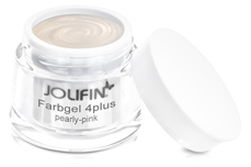 Jolifin Farbgel 4plus pearly-pink 5ml