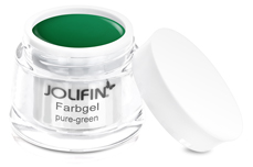 Jolifin Farbgel 4plus pure-green 5ml