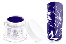Jolifin Farbgel 4plus pure-purple 5ml