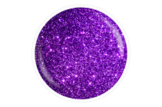 Jolifin Farbgel purple Glitter 5ml