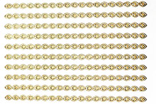 Ornament Nail-Sticker Gold Nr. 1