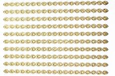 Ornament Nail-Sticker Gold Nr. 1