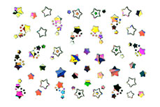 Hologramm Nail-Sticker Nr. 2
