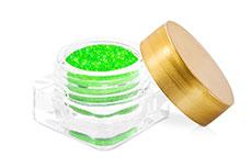 Neon Revolution glitter-green