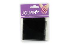 Jolifin Nailart panty mesh schwarz