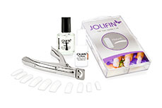Original Jolifin 4plus French-Nail-Set weiß