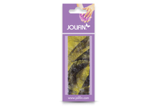 Jolifin Nailart colored fiber yellow