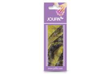 Jolifin Nailart colored fiber yellow