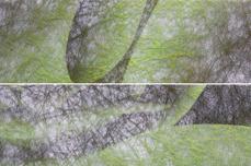 Jolifin Nailart colored fiber dark green