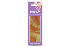 Jolifin Nailart colored fiber orange