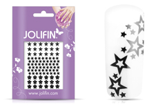 Jolifin Fancy Nail Sticker black 4