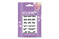 Jolifin Fancy Nail Sticker black 5