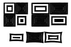Jolifin Fancy Nail Sticker black 6