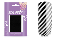Jolifin Fancy Nail Sticker black 7
