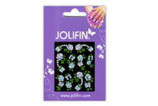 Jolifin Brilliant Flower Nail Sticker 3