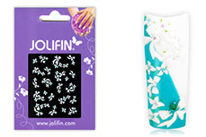 Jolifin Brillant Flower Nail Sticker 5