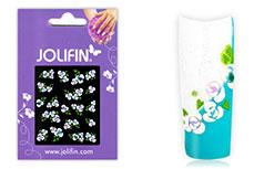 Jolifin Brillant Flower Nail Sticker 7