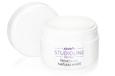 Jolifin Studioline Refill - French-Gel natural-white 250ml