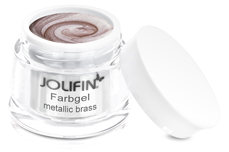 Jolifin Farbgel 4plus metallic brass 5ml