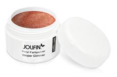 Jolifin Acryl Farbpulver copper Glimmer 5g