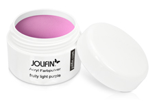 Jolifin Acryl Farbpulver fruity light purple 5g
