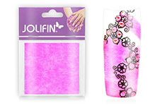 Jolifin Nailart painted sheet pink
