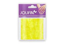 Jolifin Nailart painted sheet yellow