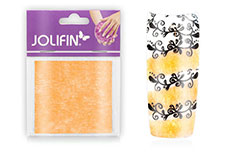 Jolifin Nailart painted sheet apricot