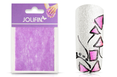 Jolifin Nailart painted sheet magenta