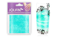Jolifin Nailart painted sheet mint