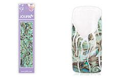 Jolifin Nailart Seashell Wrap light blue