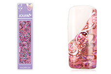 Jolifin Nailart Seashell Wrap rose