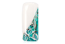 Jolifin Nailart Seashell Wrap petrol