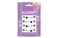 Jolifin Halloween Nailart Tattoo Nr. 1