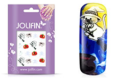 Jolifin Halloween Nailart Tattoo Nr. 6